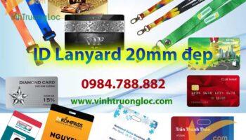 ID Lanyard 20mm giá rẻ